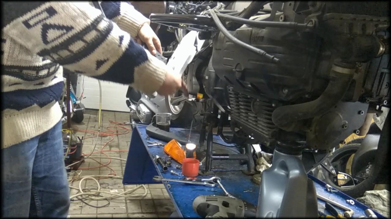 K1200LT Замена масла в КПП