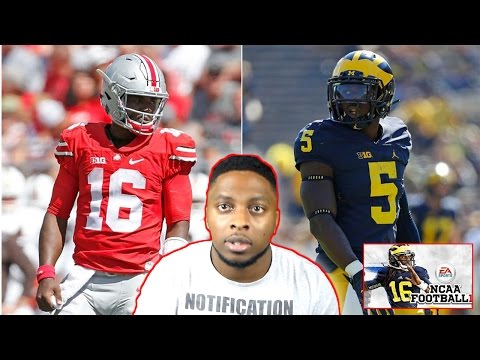 EARLY CFB PLAYOFF GAME!!! OHIO STATE! vs MICHIGAN!! THE GAME!!! MULTIPLE OVERTIME THRILLER! NCAA 14