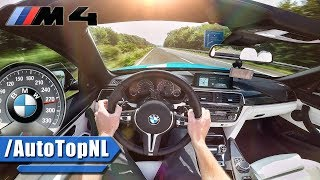 Bmw m4 pov top speed w/ roof down!! 285km/h on autobahn by autotopnl