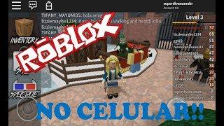 Jogando Roblox no celular - Murder Mystery 2 - 26-FEV-18