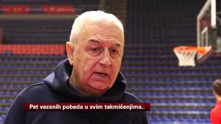 Trener Dragan Šakota Pred Evroligaški Duel ASVEL - Crvena Zvezda | SPORT KLUB Košarka