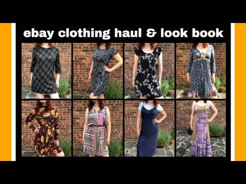 Selling clothes on ebay - Summer/Autumn Dress Lookbook - Haul & Try On