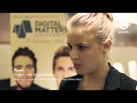 Gleam Futures - New approaches in talent management for online stars. Digital Matters 2015