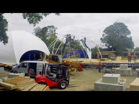 Construction of Bug Lab at Auckland Zoo
