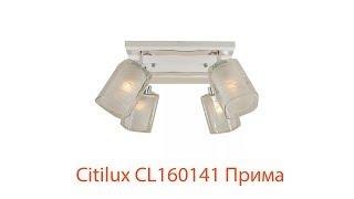 Видеообзор Citilux CL160141 Прима