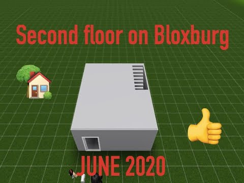 How To Build A Second Floor Computer Version Roblox Bloxburg Gamepass Required June 2020 Youtube