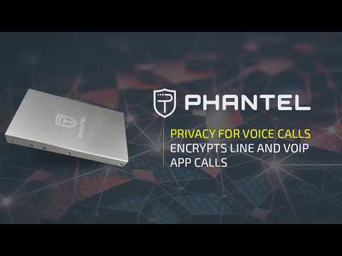 Phantel | Military grade phone call encryption