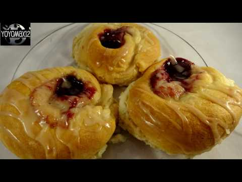 Easy Crescent Roll Cheese Danish -with yoyomax12