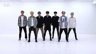 [Mirrored & 50% slowed] BTS (방탄소년단) - ''DNA'' Dance Practice