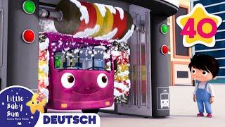 Die Räder vom Bus Zusammenstellung   Kinderlieder   Little Baby Bum Deutsch   Kinderreime Für Kinder