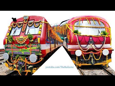 SUBURBAN RAIL for Bangalore | Man falls from Train