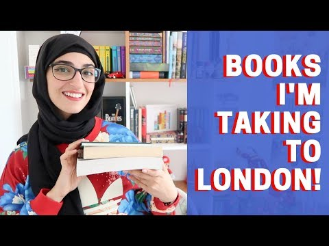 3 BOOKS I'M TAKING TO LONDON! 📚 🇬🇧