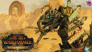 Tomb Kings vs. Dark Elves - Mortal Empires Multiplayer - Total War Warhammer 2 Gameplay