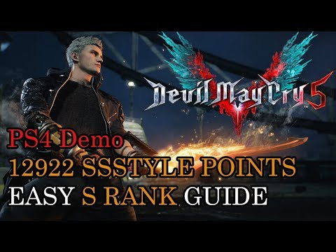 Devil May Cry 5 Demo - 12922 Style Points Perfect SSS - EASY S RANK GUIDE thumbnail
