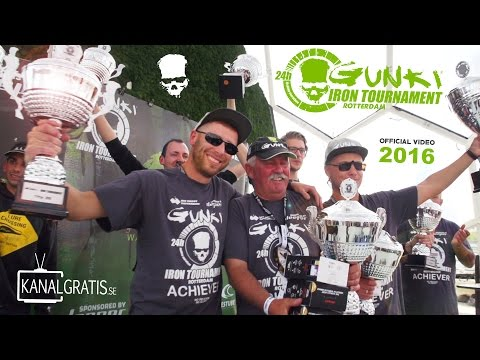 Gunki Iron Tournament 2016 Rotterdam - World's Largest 24h Street Fishing Competition