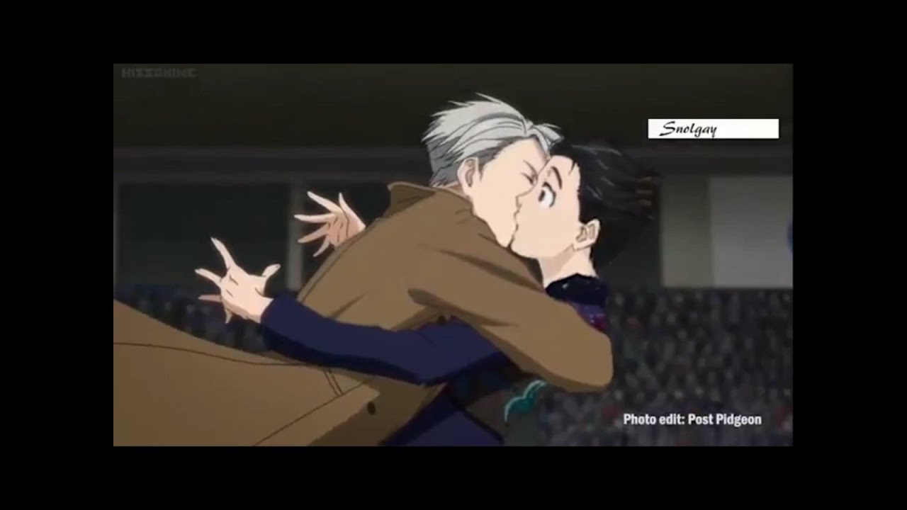 yuri on ice kiss