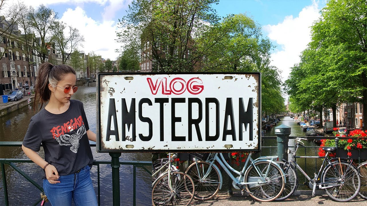 Amsterdam Gezisi | Amsterdam Travel Vlog