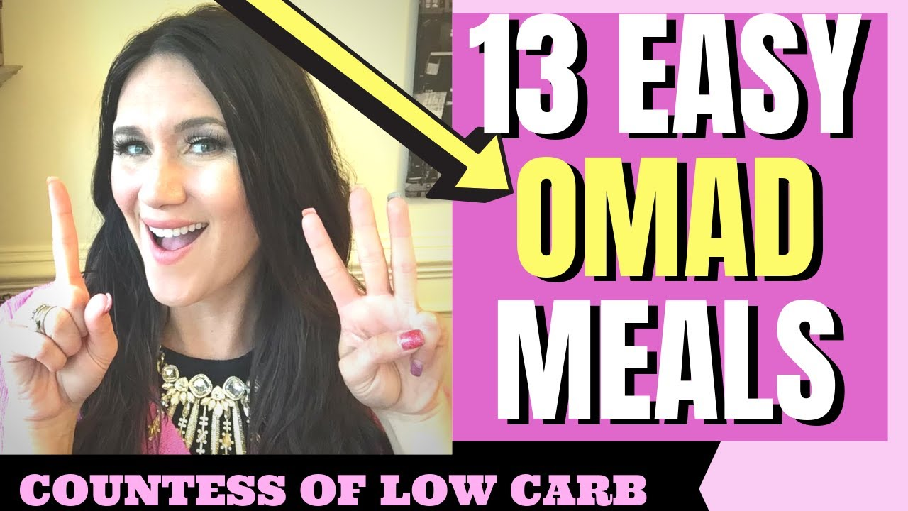 13 Easy OMAD Meals (😮AND 1 Secret!) For Fat Loss