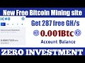 Earn Bitcoin every sec Top 5 FREE Bitcoin Mining site Earn bitcoin & cryptocurrency daily no captcha