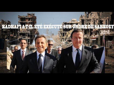 Kadhafi a-t-il été exécuté sur ordre de Sarkozy?