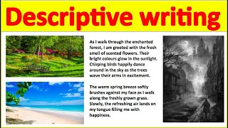 Descriptive writing using 5 senses ✍️ | How to write the perfect piece of descriptive writing