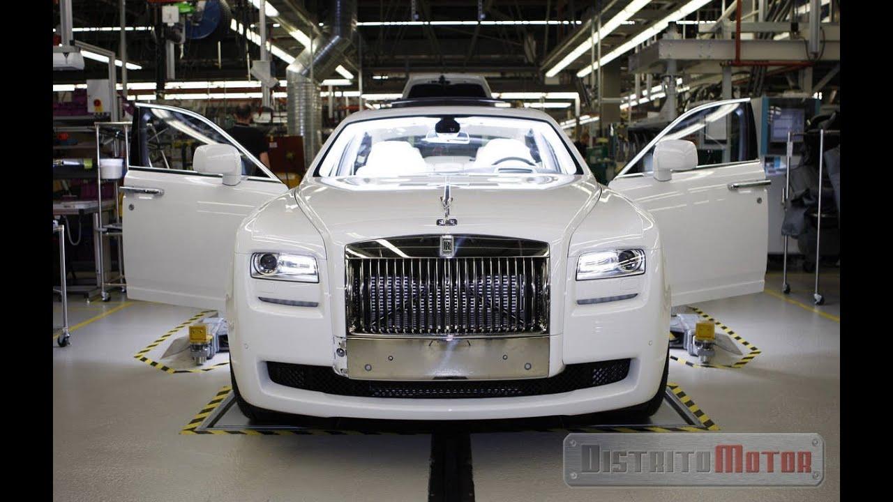 Fabrication Process of Rolls Royce ENGLISH VERSION - YouTube