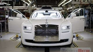 Fabrication Process of Rolls Royce ENGLISH VERSION