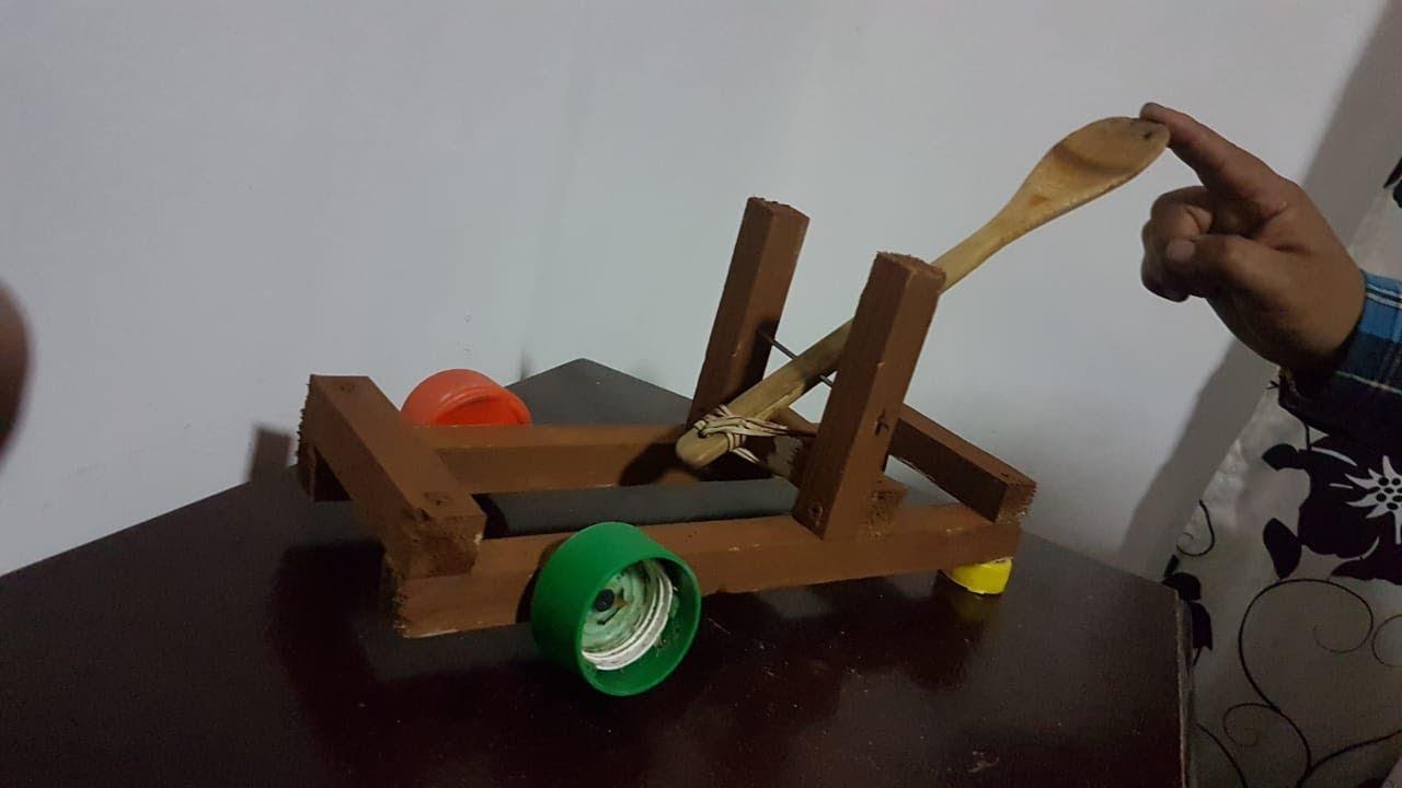 Como Hacer Una Catapulta Casera Con Materiales Reciclables