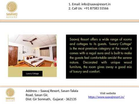 Luxury Hotels In Sasan Gir