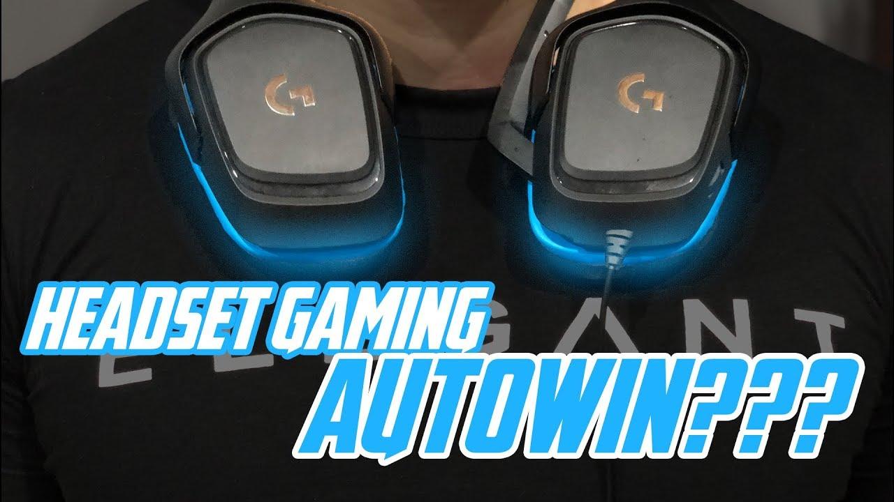 Headset Gaming Surround 7.1 Dari Logitech Yang Makin Sempurna | Bikin AUTOWIN PUBG |
