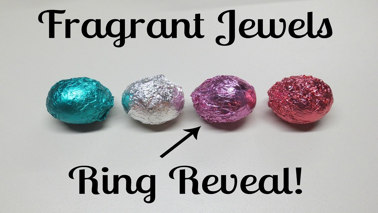 Fragrant Jewels Ring Reveal - Tranquility Lavender Bath Bomb - YouTube