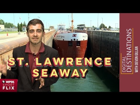 St. Lawrence Seaway and Eisenhower Locks, Massena, New York | WPBS Short Flix