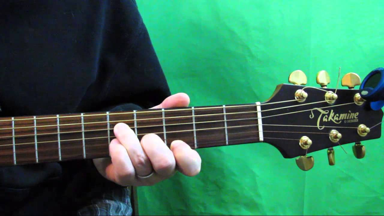 How To Play A C Minor Chord On Guitar Youtube