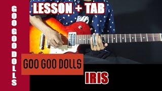How To Play Iris   Goo Goo Dolls On Guitar  TAB