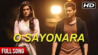 *NEW SONG* O Sayonara - Mahesh Babu, Kriti Sanon - Ek Ka Dum Full Movie On 12th July 8AM