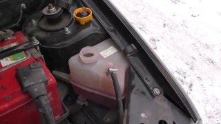 Вторая машина с проблемой: не греет печка - воздух в системе!