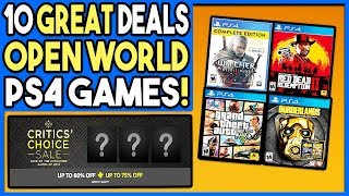 10 GREAT PS4 GAME DEALS ON OPEN WORLD GAMES RIGHT NOW - AWESOME PSN DEALS!