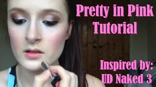 Pretty In Pink Eyeshadow Tutorial (Naked 3 Inspired) Thumbnail