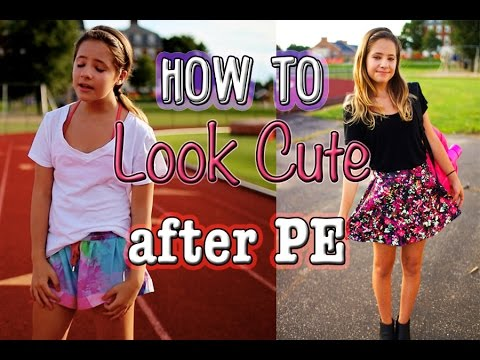 my post gym routine how to look cute after pe youtube. Black Bedroom Furniture Sets. Home Design Ideas