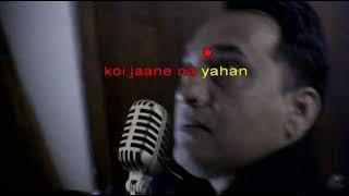 Nain Hamare San | karaoke | mukesh | with lyrics