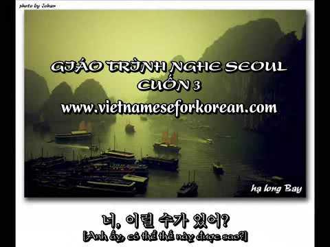 Giáo trình nghe Seoul Cuốn 3 Bài 19, bài 10 và bài 21 [www.vietnameseforkorean.com]