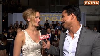 Jennifer Lawrence on Her Trucker Diet, Security, Social Media and More at 'Mockingjay' Premiere