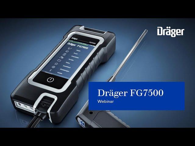 Dräger FG7500: Webinar