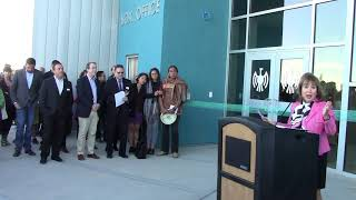 IAIA Dedication Ceremony Performing Arts & Fitness Center |  Barbara Barbara Damron