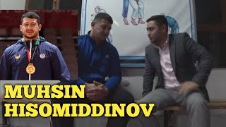 Mukhsin Khisomiddinov (Kurash)IKKI KARRA JAXON CHEMPIONI OSIYO O