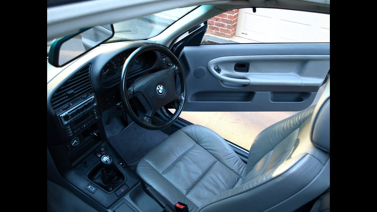 BMW 1996 E36 318is Coupe Interior (HD) - YouTube