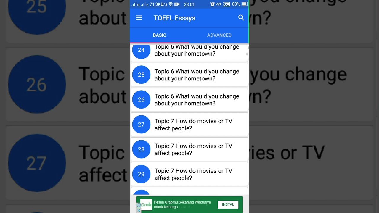 toefl essay youtube Jump to the essay topics #001: why do people go to college #002: are parents the best teachers #003 food is now easier to prepare is this a good thing 6 essays.