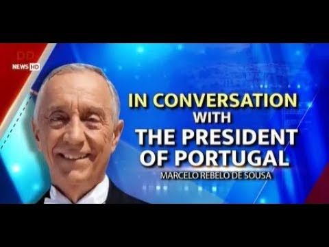 DD NEWS EXCLUSIVE   In Conversation With President Of Portugal