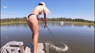 Fishing for the RAREST fish in the US, FIRST CATCH WITH &#39FIGURE-8&#39 TECHNIQUE!!