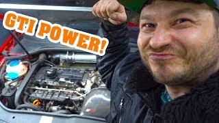 VW GOLF GTI 🛠 NOTLAUF - KEINE LEISTUNG 🛠 #VW #MRDOIT #GTI